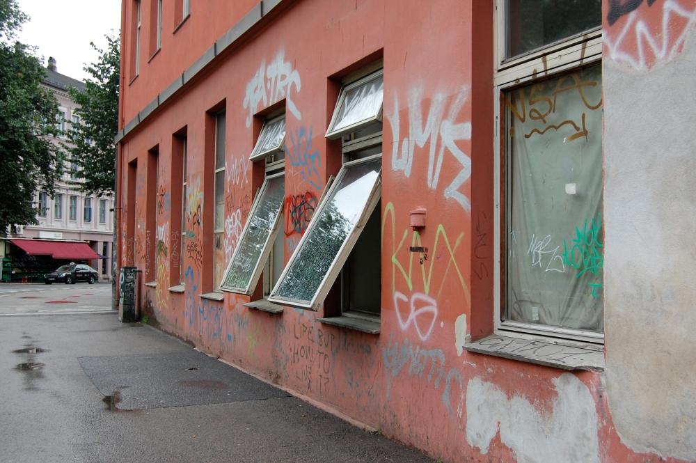 Tagging og grafitti i Norges to største byer (1/6)